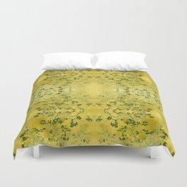 LoVinG V - yellow Duvet Cover