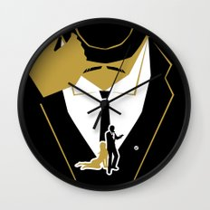 Goldfinger Wall Clock