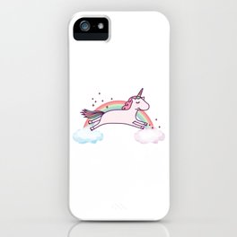 UNICORN - It's so fluffy! iPhone Case