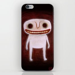 Smily Ghost iPhone Skin