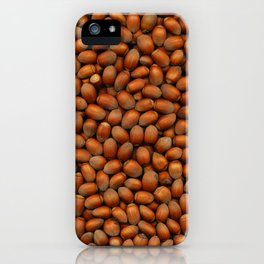 Hazel Nut Scanograph iPhone Case