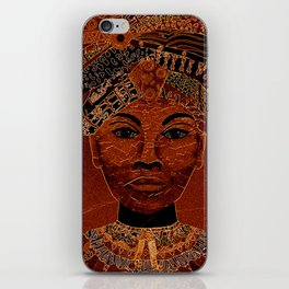 Who that's girl? iPhone Skin