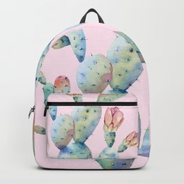 cactus watercolor 2 Backpack