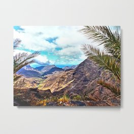 Gran Canaria, Canary Islands. Metal Print