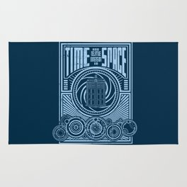 Time and Space Rug