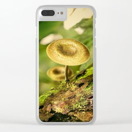 Mushroom Clear iPhone Case