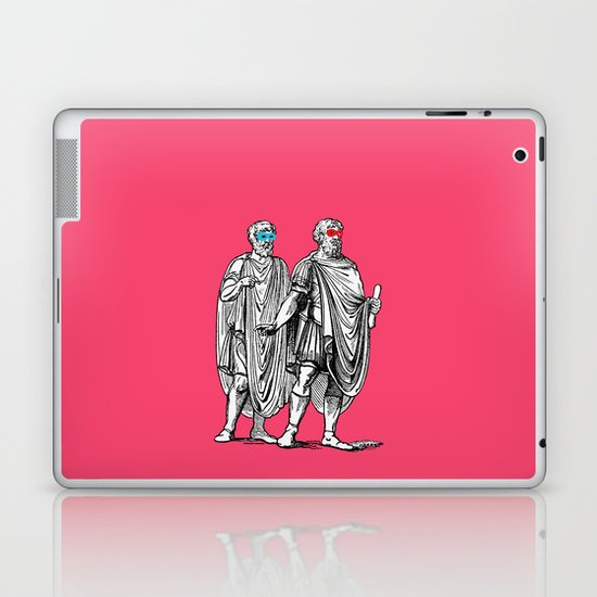 Classic men have a party Laptop & iPad Skin
