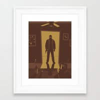 breaking bad Framed Art Prints featuring Breaking Bad by Brandon Riesgo