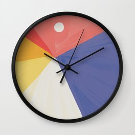 The Summer Drive Wall Clock