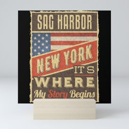 Sag Harbor New York Mini Art Print