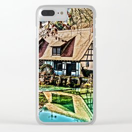 The watermill Clear iPhone Case