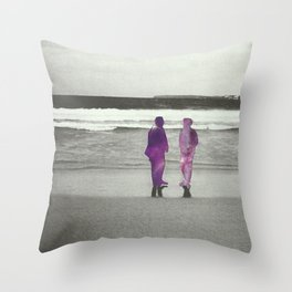 Sea and Space Throw Pillow