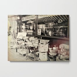 Junk Shop London Metal Print