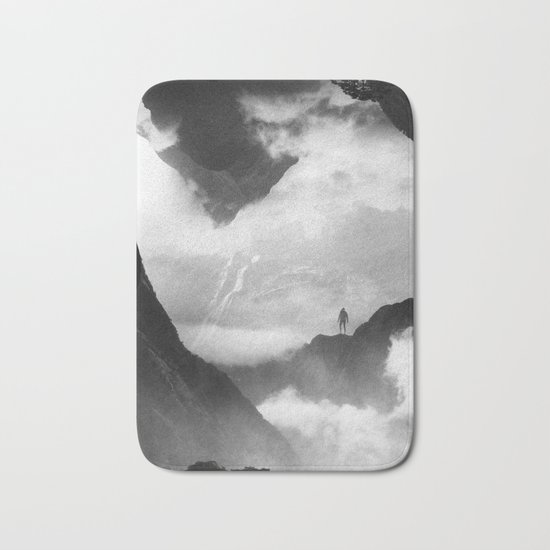 These mountains are mine of clouds Bath Mat