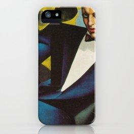 Classical Masterpiece Portrait of the Marquis d'Afflito by Tamara de Lempicka iPhone Case