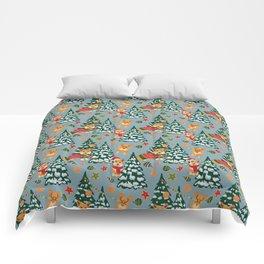 Merry Corgmess Comforters