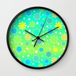 Joyful summer Wall Clock