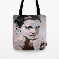 emma watson Tote Bags featuring Emma Watson by Sensitive Derais