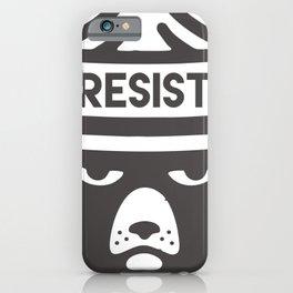 Bear Hat is Resist iPhone Case