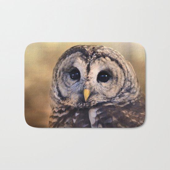 The Wise Owl Bath Mat