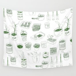 Cover, CONTAIN, Compost - 2 of 3 Wall Tapestry