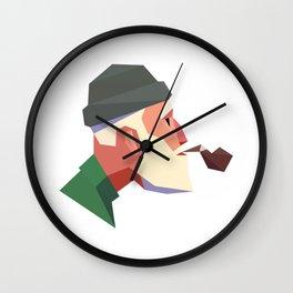 Old man Wall Clock