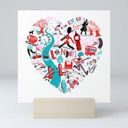 The Landmark London Mini Art Print