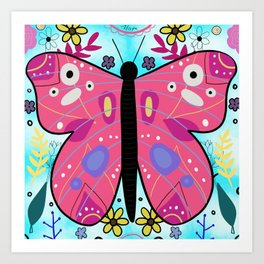 Butterfly of Change Art Print