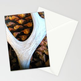 Antler, Pinecones Stationery Cards