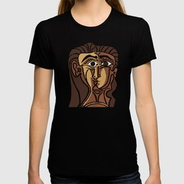 Pablo Picasso, Tete de Femme (Head Of A Woman) 1962 Artwork Reproduction T-shirt