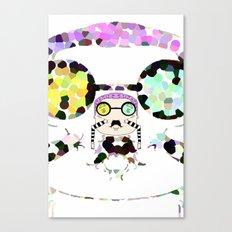 Monsieur Steams Canvas Print