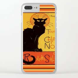 Tournee Du Chat Noir - After Steinlein Clear iPhone Case