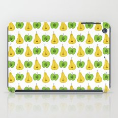 Apple and pear pattern iPad Case