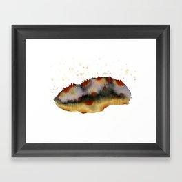 Poppy hills Framed Art Print