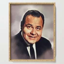 Jonathan Winters, Vintage Actor Serving Tray