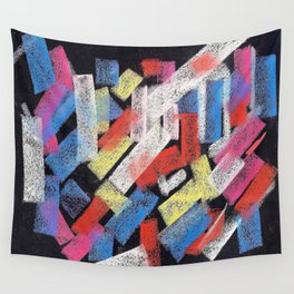 Multicolor construct Wall Tapestry