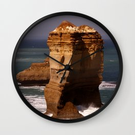 Stand Like a Rock Wall Clock