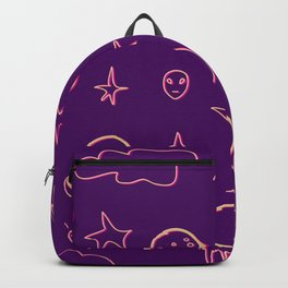 Bright night Backpack