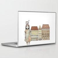 budapest Laptop & iPad Skins featuring Budapest by Bari Zsidek