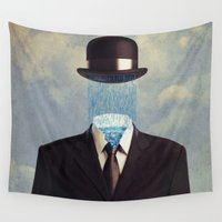 magritte Wall Tapestries featuring homage by Seamless