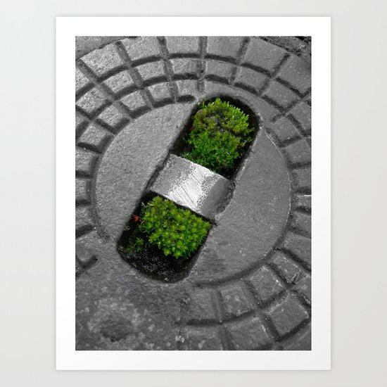 little green Art Print