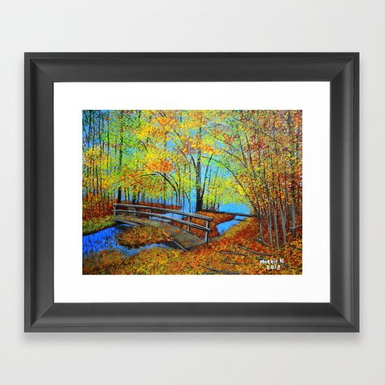Autumn landscape 4 Framed Art Print