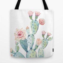 Cactus 2  White #society6 #buyart Tote Bag
