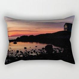 House on the Corner Rectangular Pillow