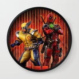 Superheros Wall Clock
