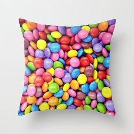 Smarties! Throw Pillow