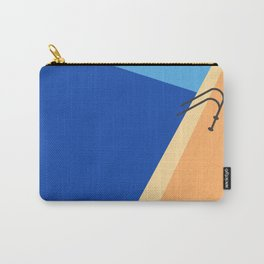 Swimming Pool with Blue Water Carry-All Pouch