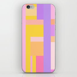Pink Purple Geometry iPhone Skin