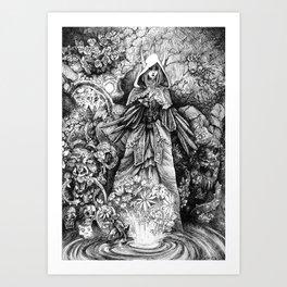 Nightmare Garden Art Print
