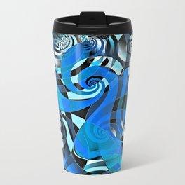 Interdimensional Whirl (blue) Travel Mug